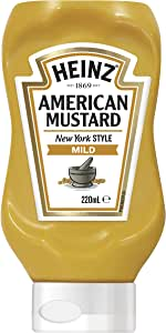 Heinz Mild American Mustard, 220 ml