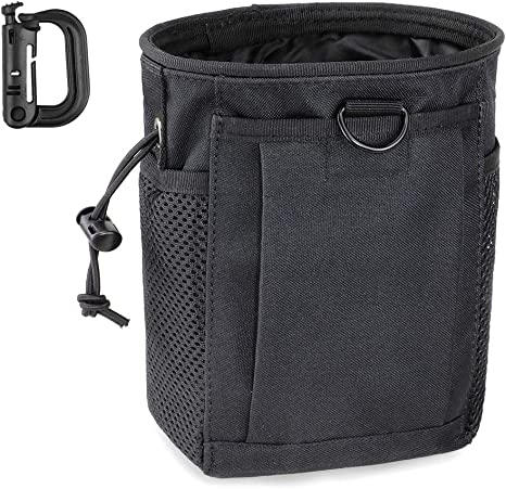 600D Tactical Military Airsoft Outdoor Tools Magazine Drop Pouch EDC Molle Bag