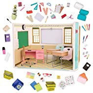Our Generation School Room Awesome Academy Set for 18 Dolls - Classroom Accessories and Furniture
