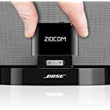 30 PIN Bose Bluetooth Adapter for Bose Sounddock and Other 30 pin Music Docking Station,30Pin iPhone iPod Dock Speaker,(Not Suitable for Any car or Motorcycle)-Black