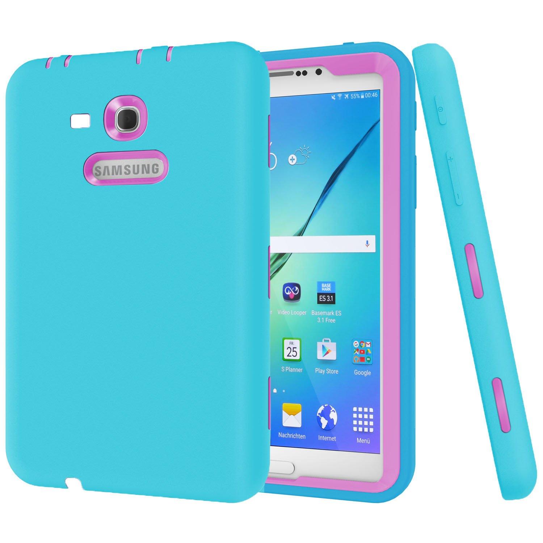 Galaxy Tab 3 Lite 70 E Case Dannyci 3in1 Full Body Samsung T111 White