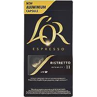 L'OR Espresso caffè - Capsule in Alluminio compatibili con macchine Nespresso® - Confezione da 50 capsule - Ristretto (Intensità 11)