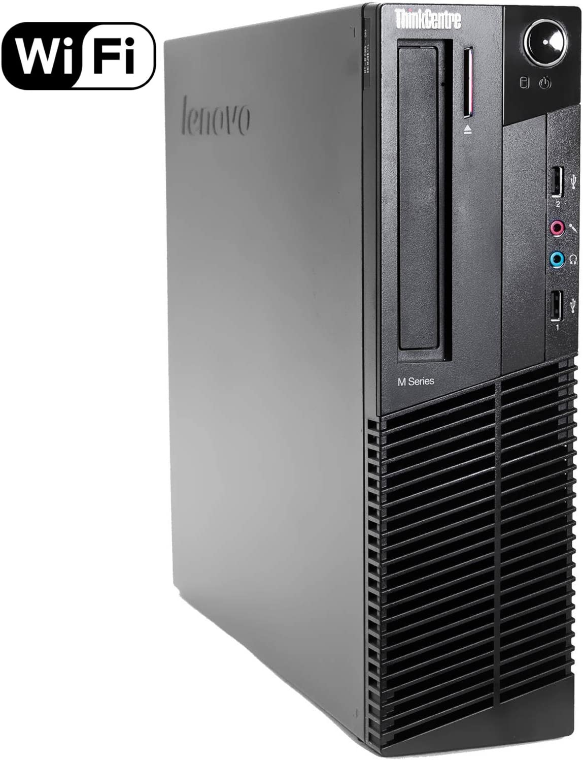 Lenovo ThinkCentre M93p SFF Pro Business Desktop Computer, Intel Quad Core i5-4570 up to 3.6GHz, 8GB RAM, 128GB SSD, USB 3.0, VGA, Gigabit Ethernet, Windows 10 Professional (Renewed)