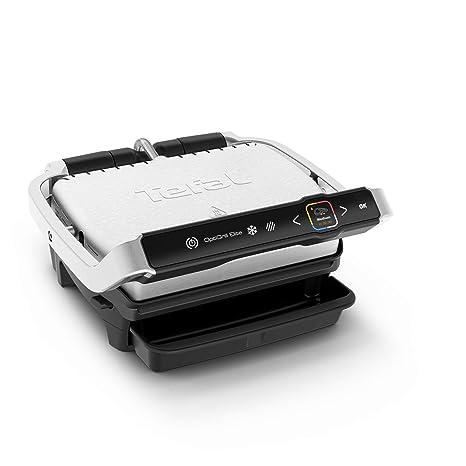 Tefal Optigrill Elite GC750D Grill - Parrilla eléctrica interior y exterior, sensor grill automático, sellado rápido, 12 programas automáticos, apto ...