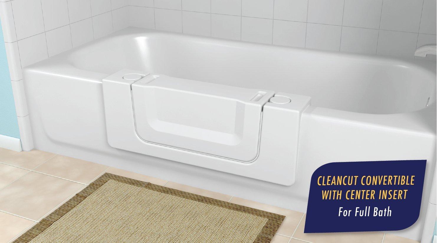 Amazon.com: CleanCut Convertible Bathtub Accessibility Kit - Size ...