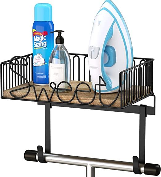 Wall Mounted Ironing Board Hanger Iron Table Hook Holder Rack Holder  Home Decor