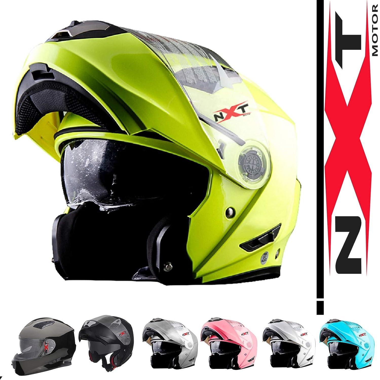 NXT Moto FF860 Motorbike Helmet Motorcycle Moped Scooter FLIP UP Modeler Crash Helmet MotoFast Flip Helmet