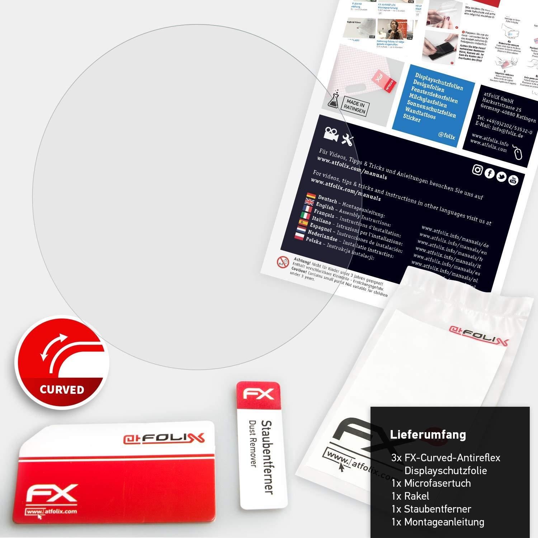atFoliX Protettiva di Schermo alta Protezione compatibile con Garmin Forerunner 235 Anti-Shock Pellicola protettiva 3X antiriflesso e flessibile FX Pellicola Protettiva