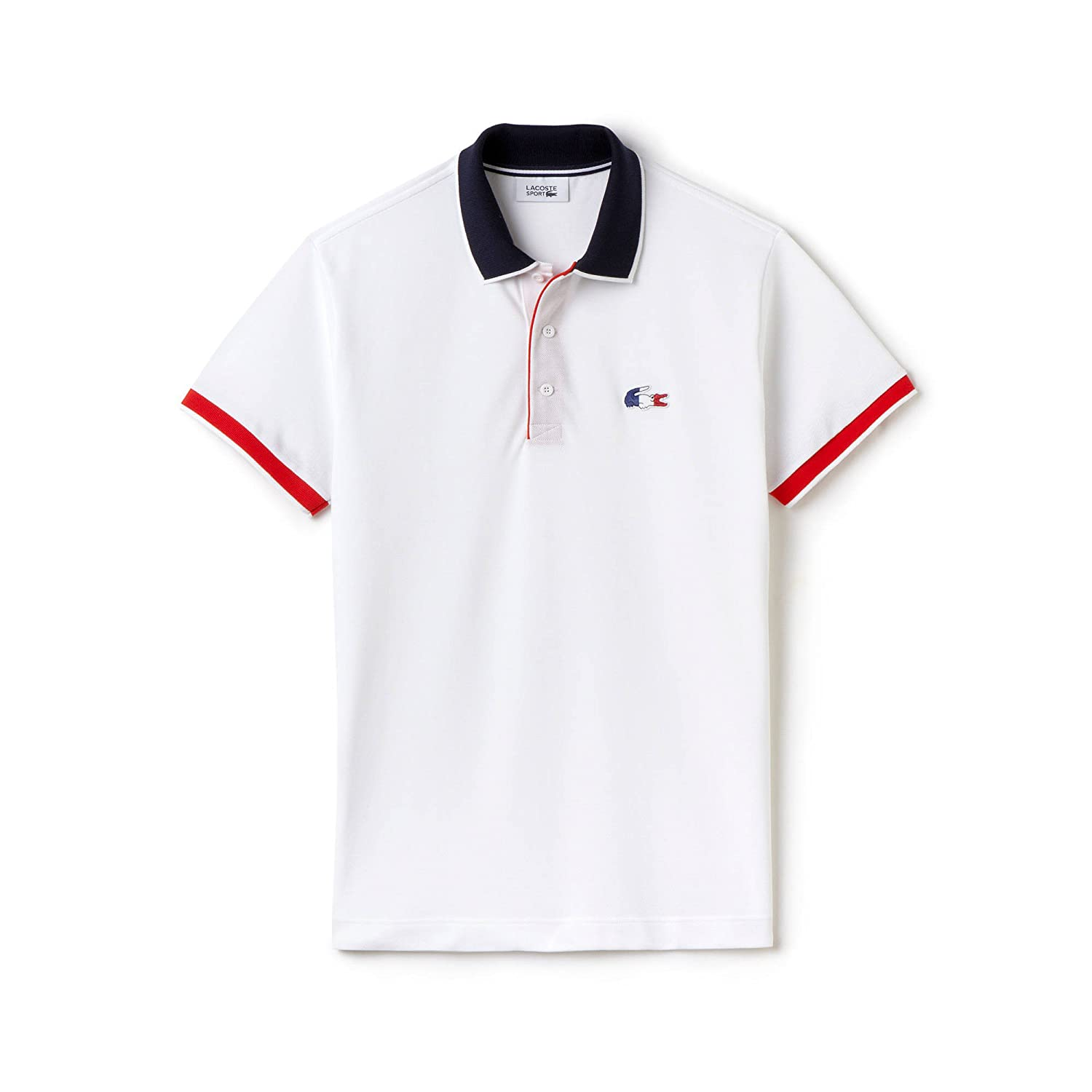 Lacoste Polo ph7607 00 5qt Sport Blanc Marine Edition Limited ...