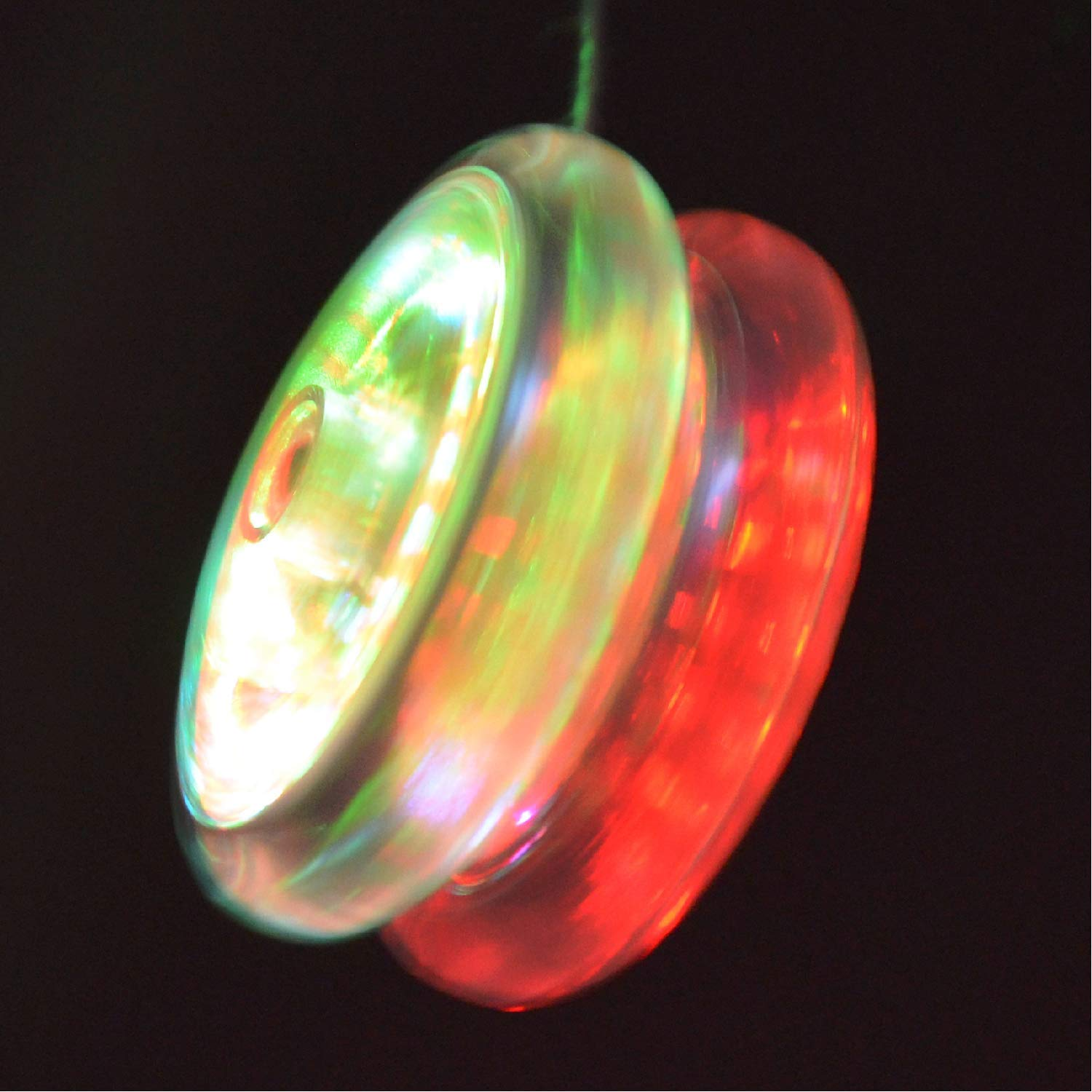 Yomega Spectrum – Light up Fireball Transaxle YoYo with LED Lights for Intermediate, Advanced and Pro Level String Trick Play + Extra 2 Strings & 3 Month Warranty (Blue) by Yomega (Image #7)