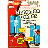 A to Z Hangman 2 in 1 Traditional Childrens Travel Game Toy