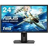ASUS ゲーミングモニター VG245H 24インチ フルHD/1ms/75HZ/HDMI 2ポート/ピボット/昇降/フリッカーフリー/ブルーライト軽減/スピーカー付