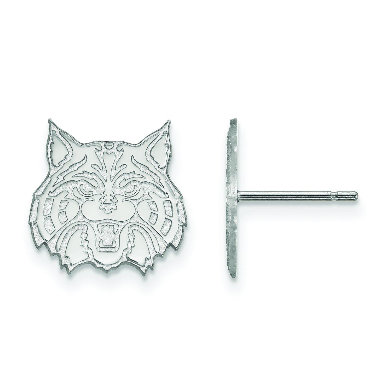 Arizona Small (1 / 2インチ) ポストイヤリング(10 Kホワイトゴールド)   B01IYEY6IA