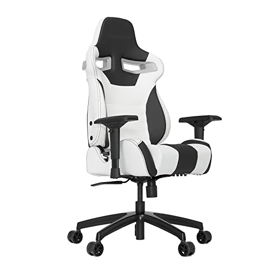 Amazon.com: VERTAGEAR S-Line 4000 Gaming Chair Medium White/Black: Home & Kitchen