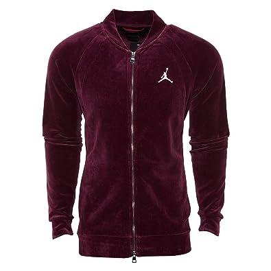 Amazon.com: Jordan ropa de deporte terciopelo chamarra ...