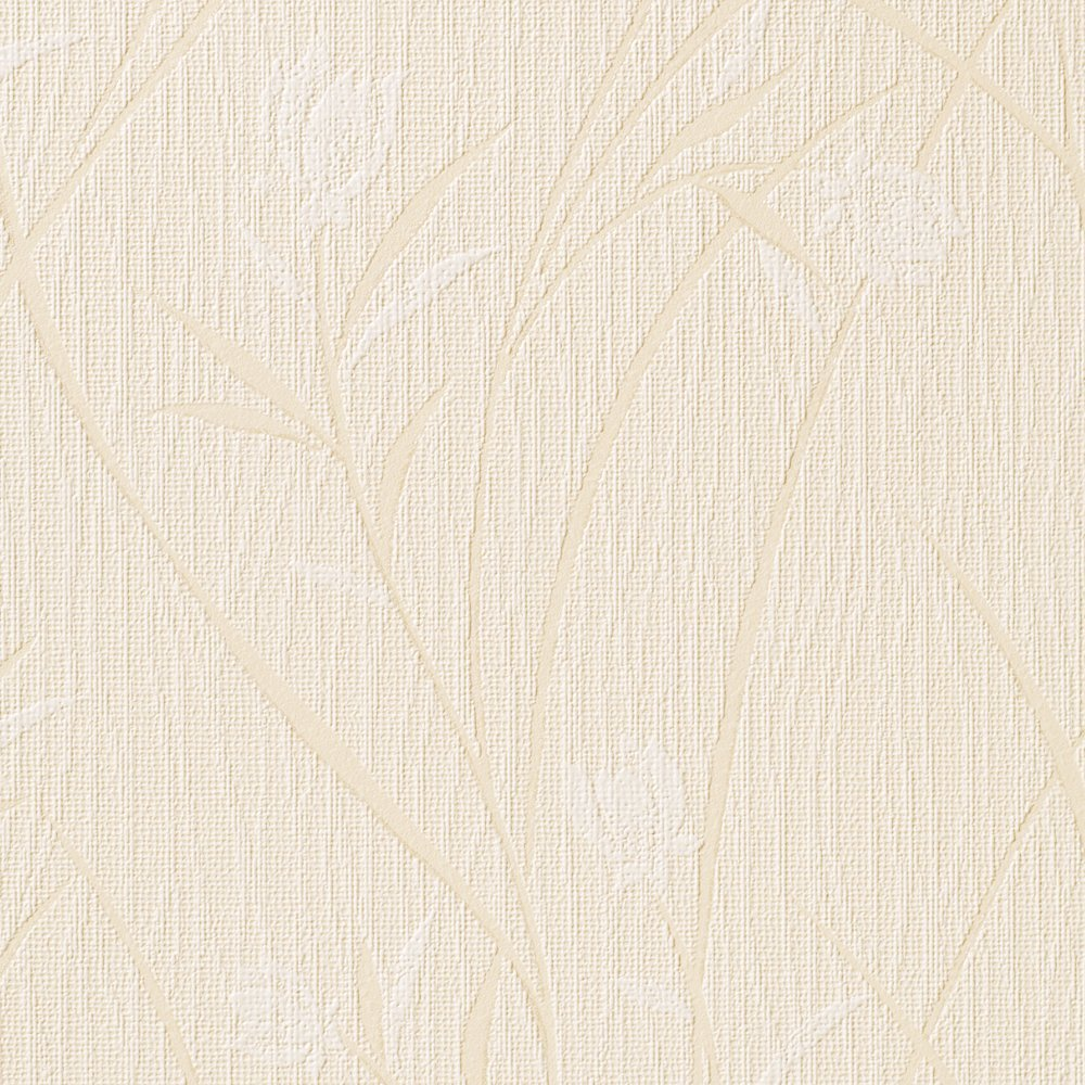 ルノン 壁紙46m 和 花柄 ベージュ 空気を洗う壁紙 RH-9213 B01HU1TOH6 46m|ベージュ