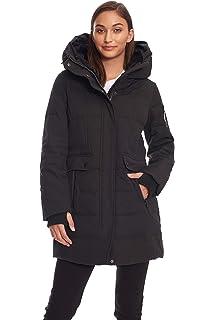 688c47b3b8 Amazon.com: Beinia Valuker Women's Seamless Hooded Down Coat Jacket ...