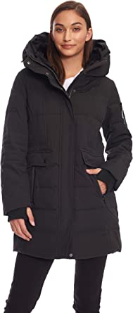 M/&CO Womens Aubergine Plum Plus Size Padded Hooded Warm Jacket Coat 18-28