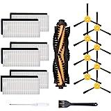 Cabiclean Kit de accesorios de repuesto compatible con ECOVACS DEEBOT N79S, DEEBOT N79 y DEEBOT 500 aspiradora robótica, 1 ce
