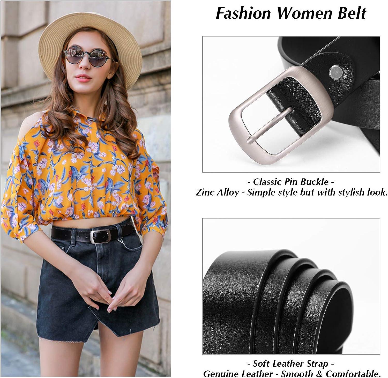 Leather Belt Simple Fashion Hundred-lap Belt Casual Fine White Belt