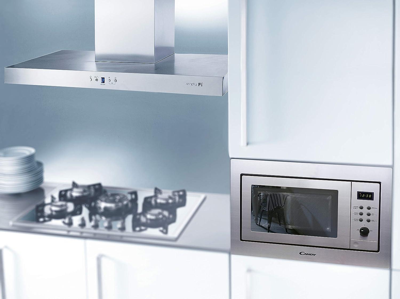 Candy MIC25GDFX - Microondas de encastre con grill, 25 L, 900 W ...