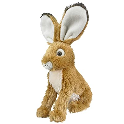 1 X Jack Rabbit Plush Stuffed animal Wildlife Artists Bunny Rabbit