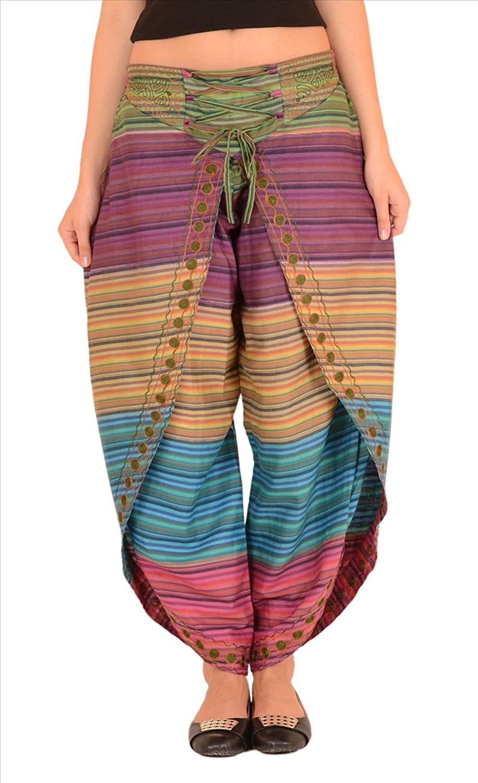 SNS Pure Cotton Aladdin Harem Dhoti Pant