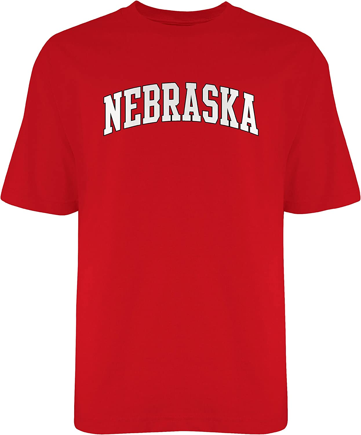 Authentic Sports NCAA Mens Wordmark T-Shirt Team Color