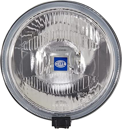 Hella Rallye 1000 1f7 004 700 031 Halogen H2 12 V Round Reference 37 5 Smoke Grey Mounting Position Left Right Auto