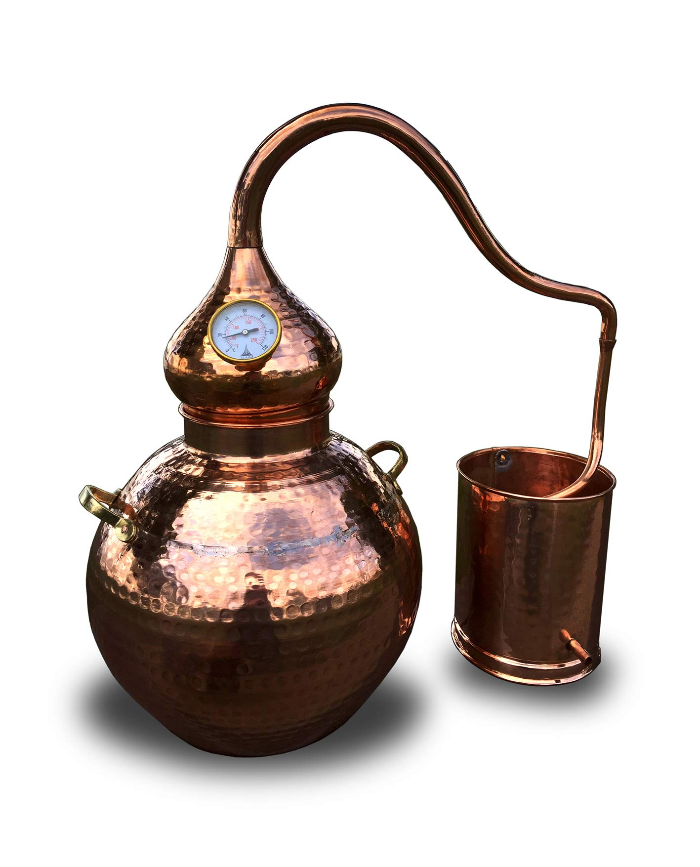Copper Alembic Still, for Whiskey, Essential Oils, Water, etc. (5 Gallon)
