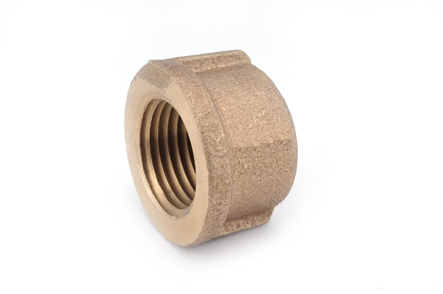 Cap Anderson Metals 38108 Red Brass Pipe Fitting 1-1//2 Female Pipe