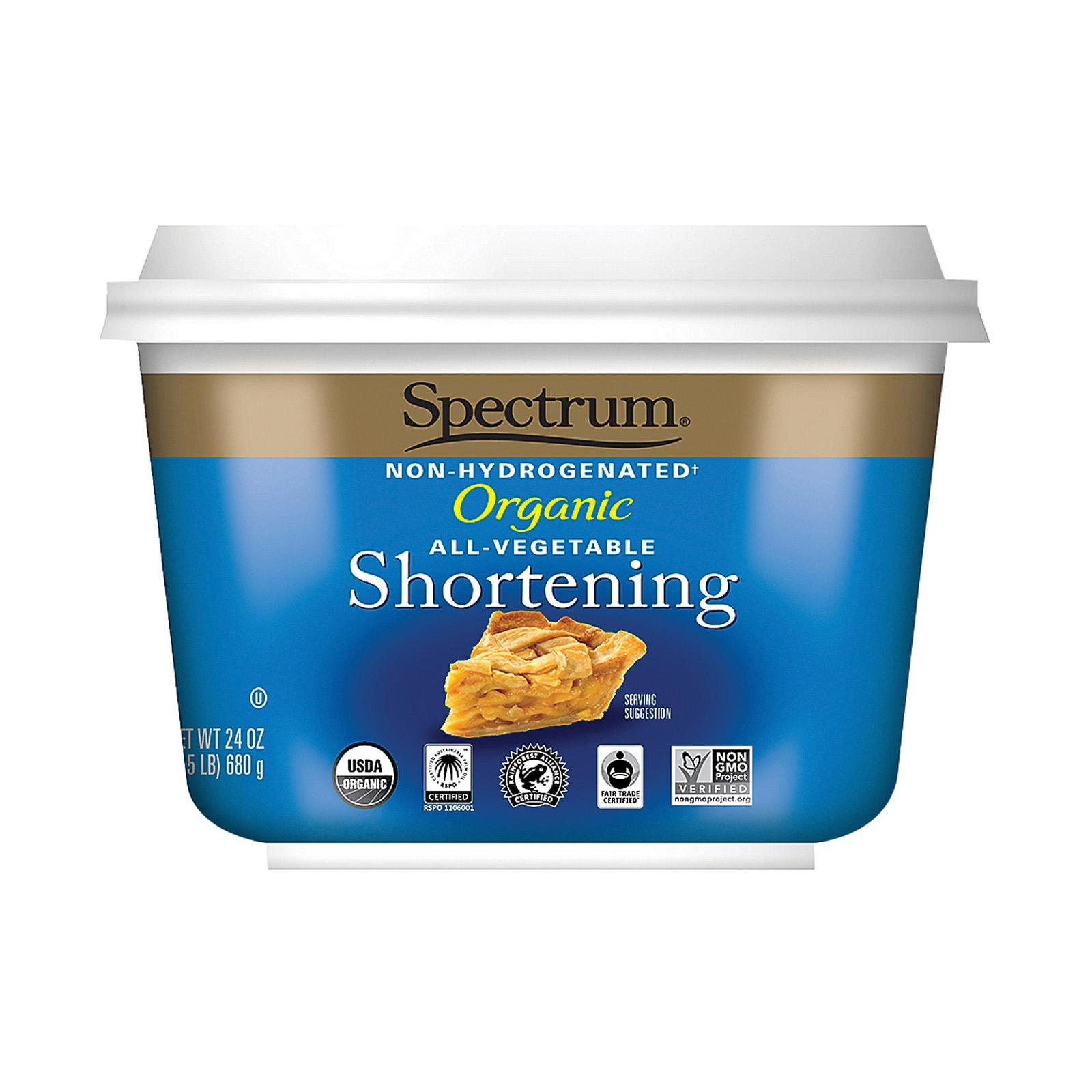 Spectrum Naturals Organic Shortening MIhKOe, 2Pack (24 oz)