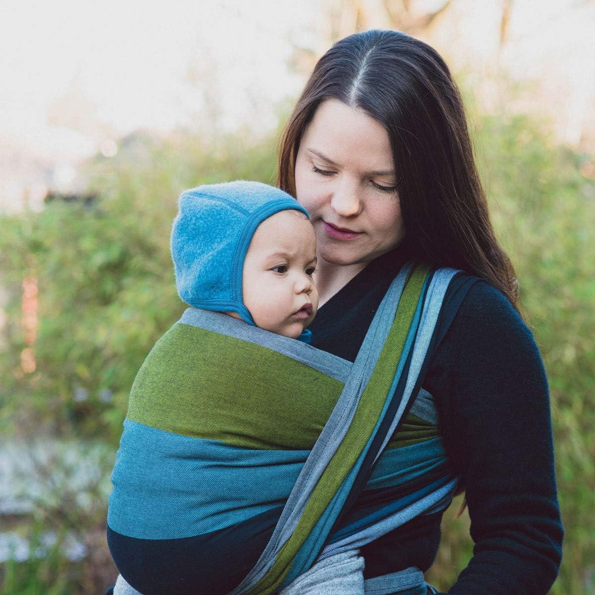 2.Wahl Hoppediz gewebtes Baby-Tragetuch Aberdeen