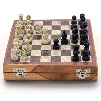 GREAT TRAVEL SET !!! TOURNAMENT WOODEN CHESS SET 30CM !