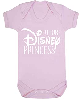 b619c1e115ef Future Disney Princess Baby Vest Babygrow Bodysuit Baby Shower Gifts Baby  Girl Gifts Pale Pink (