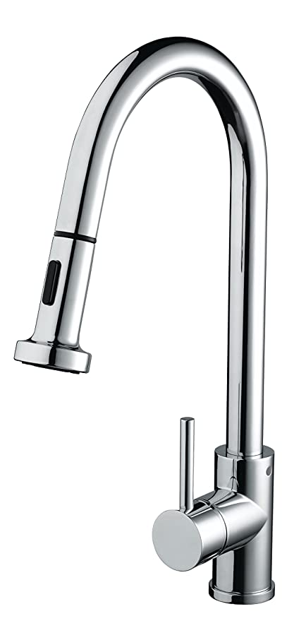 Bristan Apr Pullsnk C Apricot Monobloc Sink Mixer With Pull Out