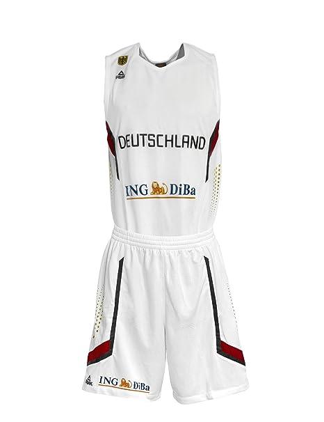 Peak Sport Europe Adultos Alemania Baloncesto equipación de Em ...