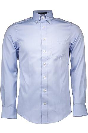 GANT 1501.308500-1 Hemd mit langen Ärmeln Harren blau 468 XL