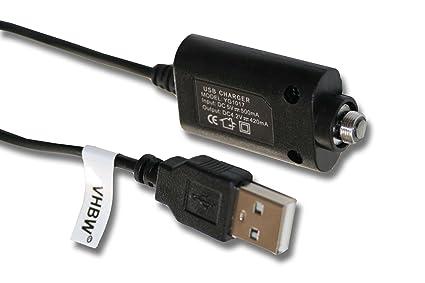 vhbw 0.25m USB Cable Cargador con Rosca 3mm para Cigarrillo ...