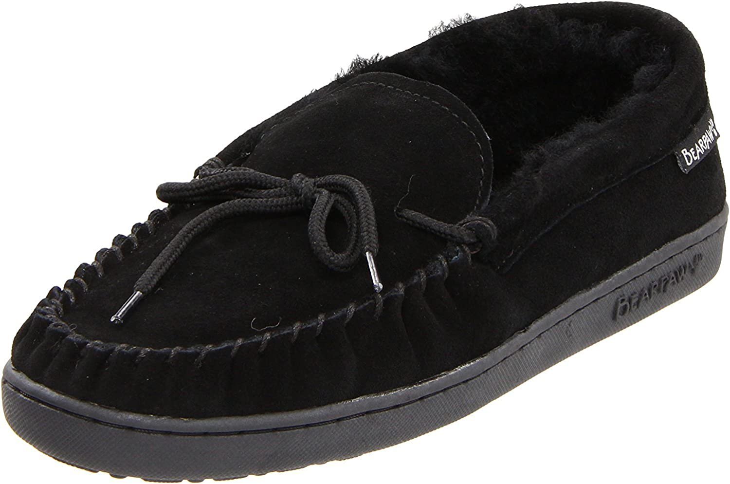 BEARPAW Men's Moc II Black