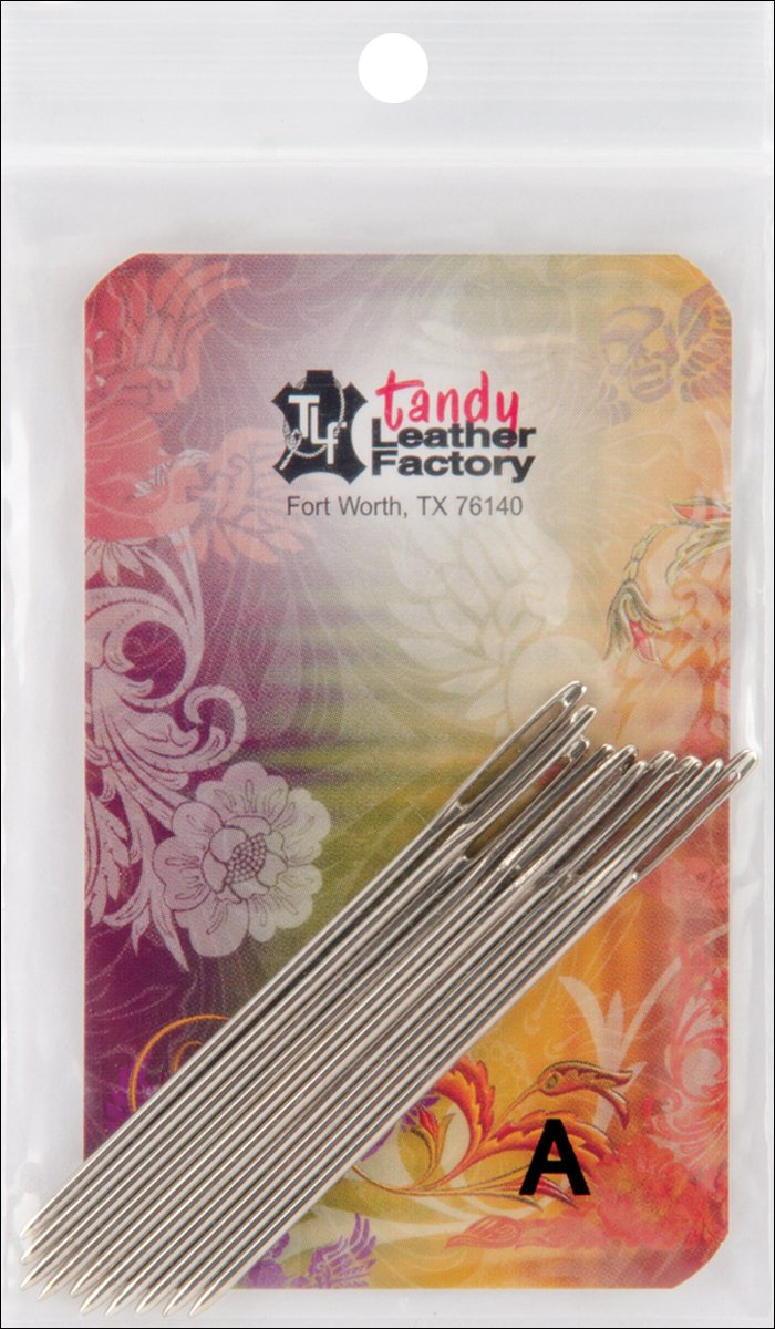 Tandy Leather Factory Stitching Needles, 10-Pack 119500