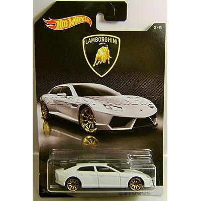 Hot Wheels 2020 Lamborghini Series Lamborghini Estoque 3/8, White: Toys & Games