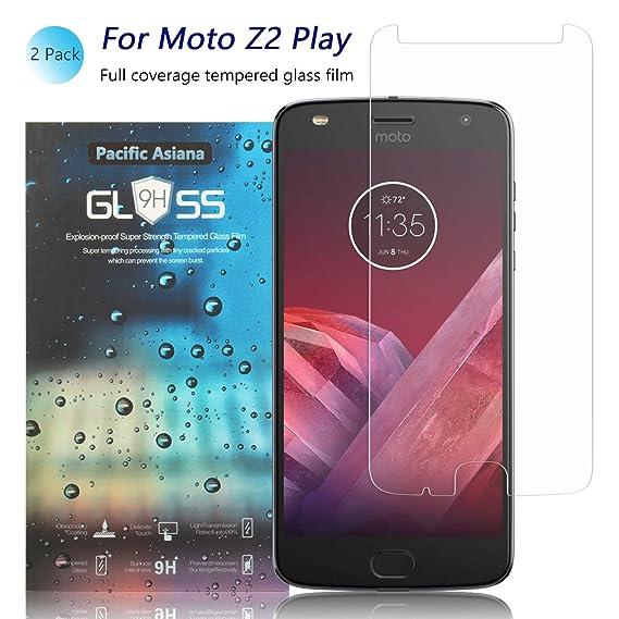 7c287e4db5a Amazon.com   2-Pack Moto Z2 Play Screen Protector
