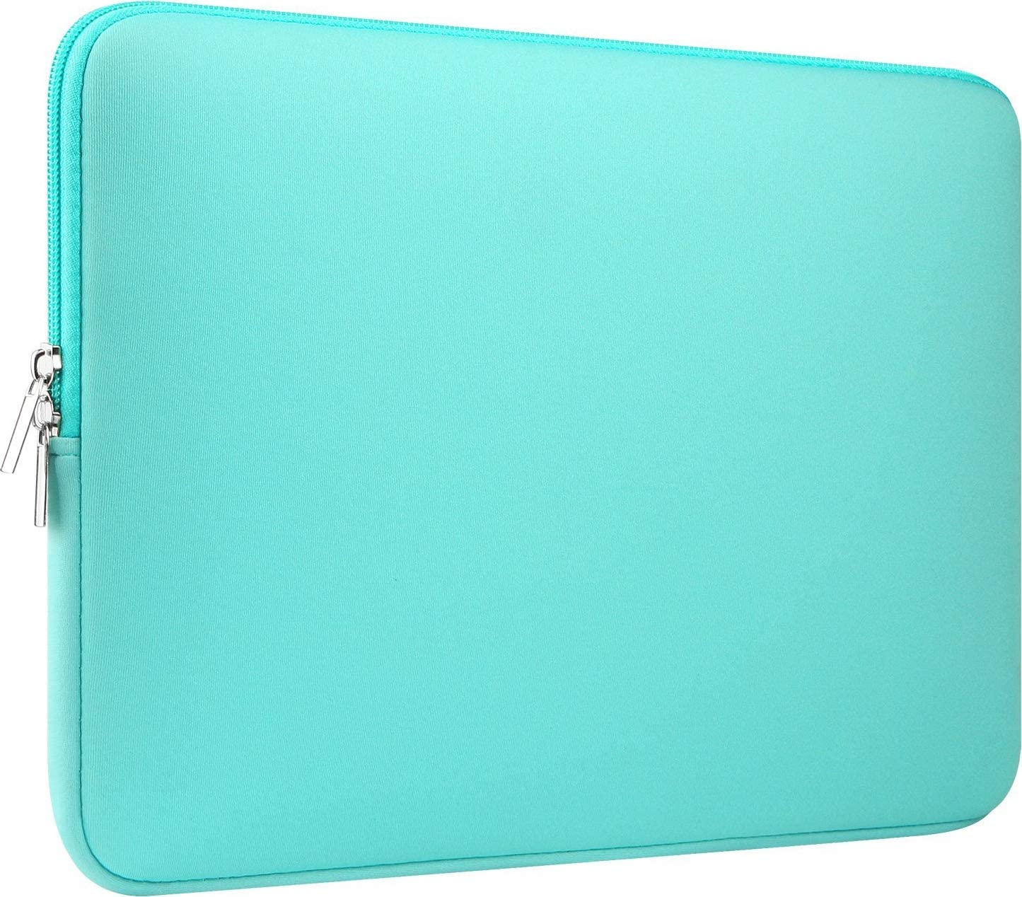 """CCPK 11 Inch Laptop Sleeve Computer Case Bag Cover Compatible for Apple 11.6"""" MacBook Air 12 Inch New MacBook 12.3-inch Microsoft Surface Pro 6 5 4 3 13.3 in Dell Xps 13 9360 9370 Skin Neoprene Mint"""