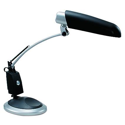 Ledu L9062 Ledu Full Spectrum Desk Lamp, Black With Sliver Accents