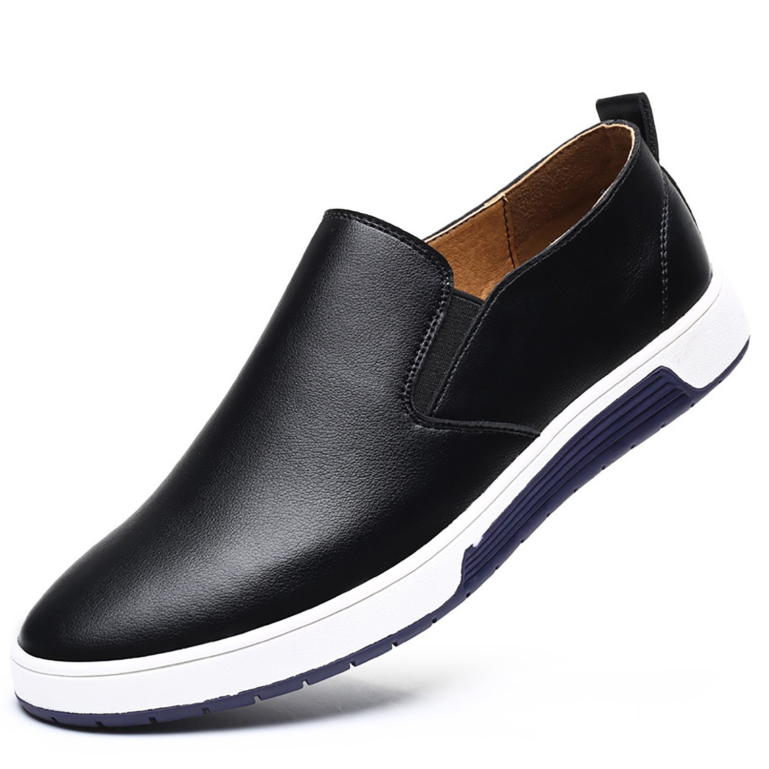 ef3d6be32f273 XIPAI Men's Casual Lofer Shoes Slip On Fashion Sneakers