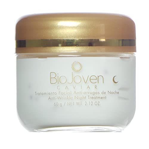 BioJoven Caviar Tratamiento Facial Anti-arrugas de Noche Anti-Wrinkle Night Treatment 60 g