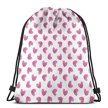 Drawstring Shoulder Backpack Travel Daypack Gym Bag Sport ...
