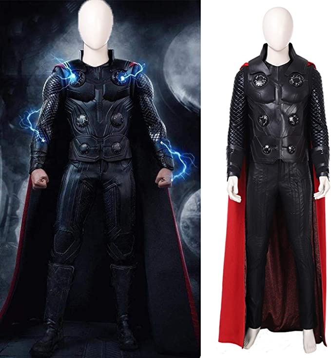 QWEASZER Thor 3 God of Thunder Disfraz de Cosplay Marvel Avengers ...