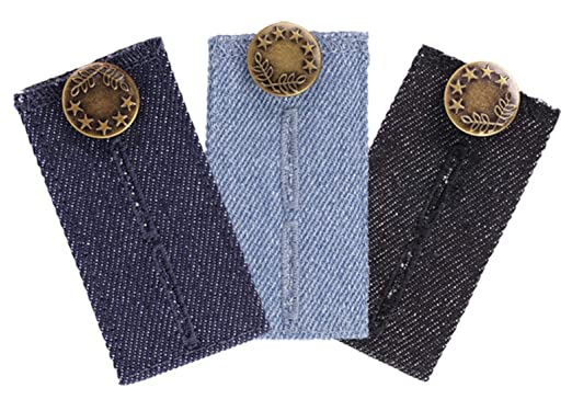 Amazon.com: 3-Pack jeans Cintura extensor para todas tus ...